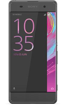 Visuel du téléphone Sony Xperia XA
