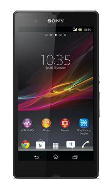 Visuel du téléphone Sony Xperia Z
