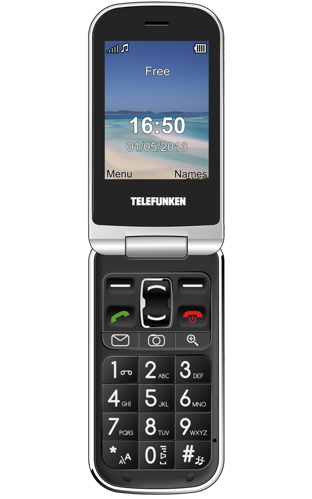 Visuel du téléphone Telefunken COSY TM 200