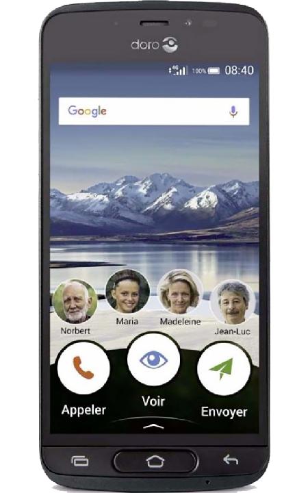 Visuel du téléphone Doro 8040 Graphite