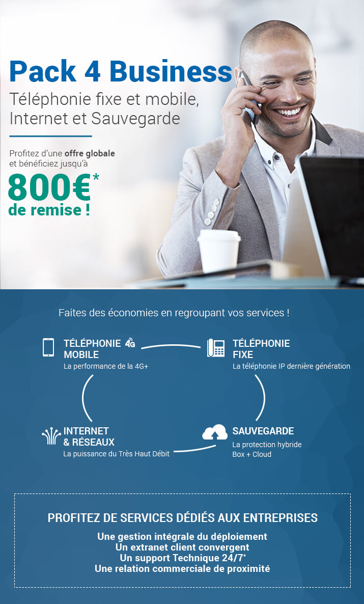 Pack 4 business pour PME
